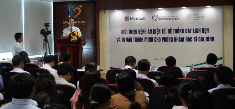 Introduction of electronic medical record, intelligent booking appointment and consultation system at Hue family medicine center