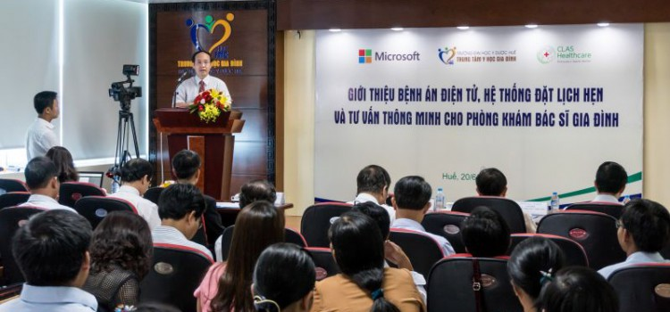BY MEANS OF BOTS THE HEALTHCARE SYSTEM IN VIETNAM IS IMPROVED